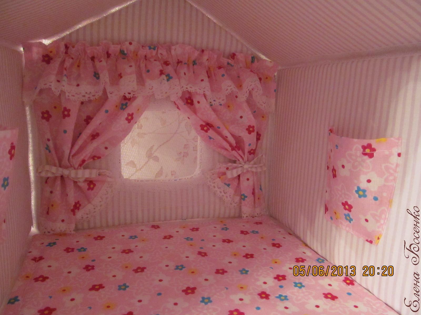 Домики для девочек своими руками в квартире